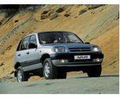 Стальная защита картера для Chevrolet Niva (с 2002 г.в.), картер + КПП