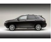 Стальная защита картера для Lexus RX 350 (2008-2009 г.в.), картер