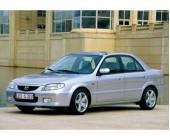 Стальная защита картера для Mazda 323 VI (1998-2003 г.в.), картер